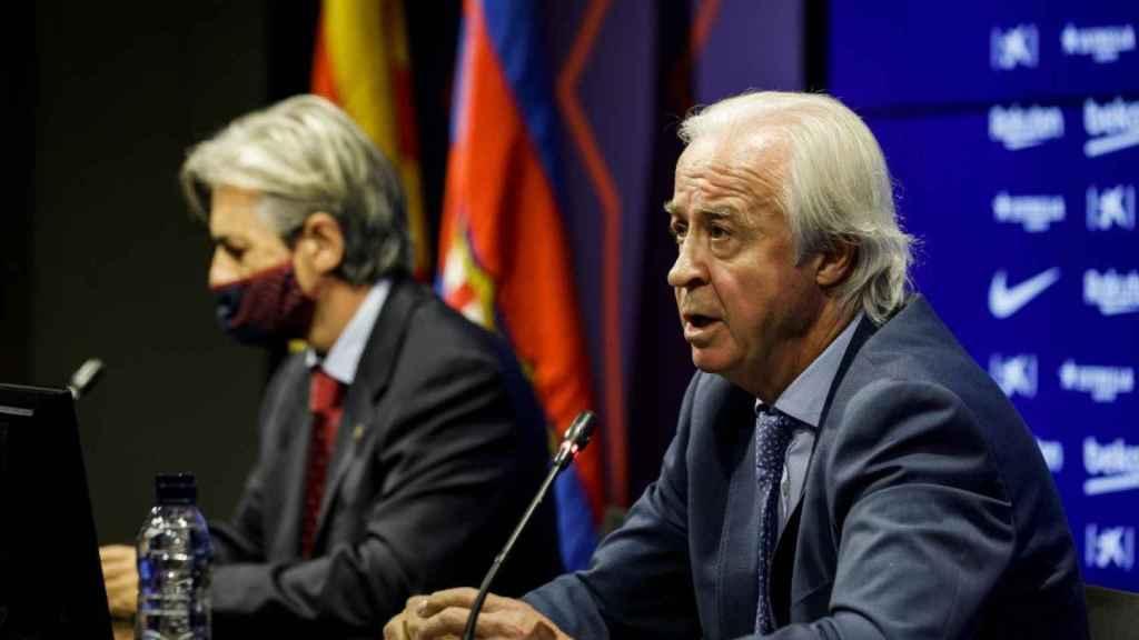 Carlos Tusquets, presidente de la comisión gestora del Barcelona
