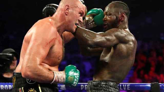 Combate de boxeo entre Tyson Fury y Deontay Wilder