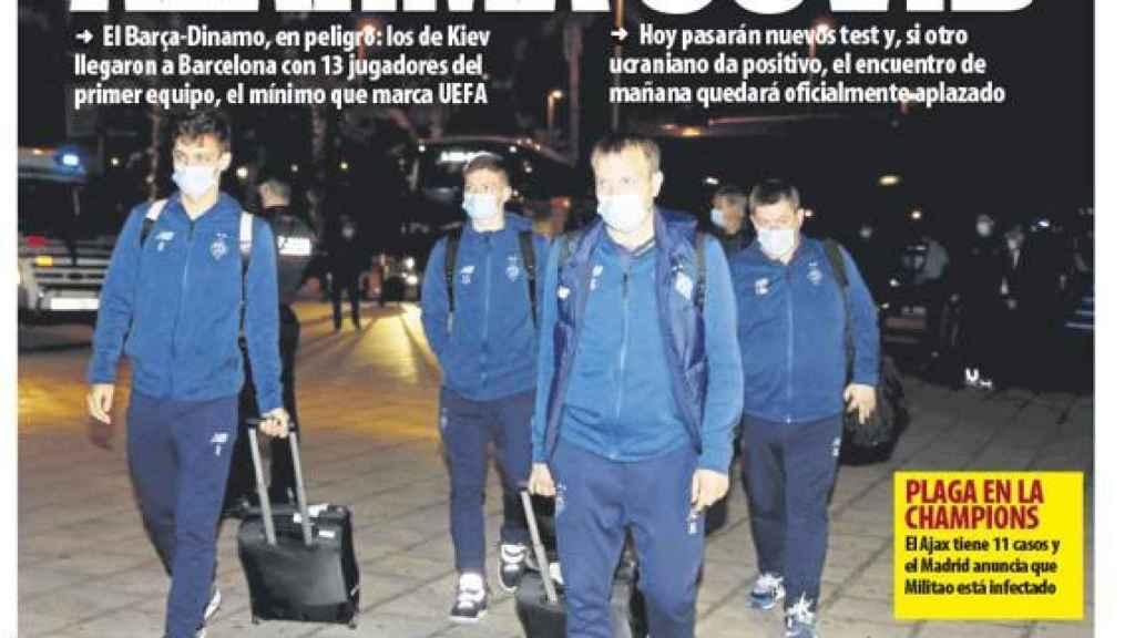 Portada Mundo Deportivo (03/11/20)