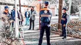 El alcalde de Albacete, Vicente Casañ, ha visitado este domingo las instalaciones del cementerio municipal