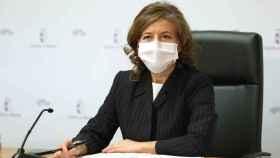 Aurelia Sánchez, consejera de Bienestar Social (Ó. HUERTAS)