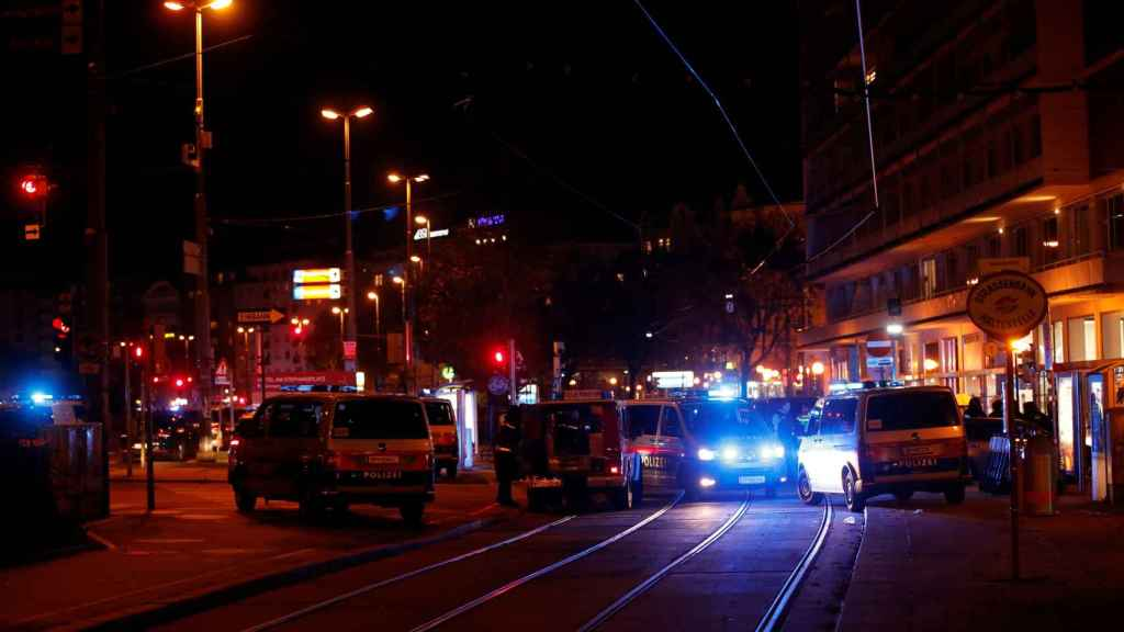 Imágenes tras el ataque en Viena.
