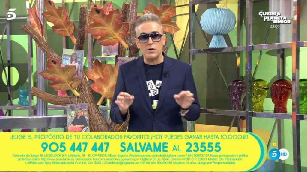 El Problema De Salud Por El Que Kiko Hernández Presenta Sálvame Con Gafas De Sol