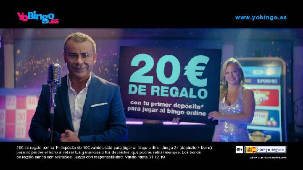 Belén Esteban y Jorge Javier Vázquez en el anuncio de 'Yo Bingo'.