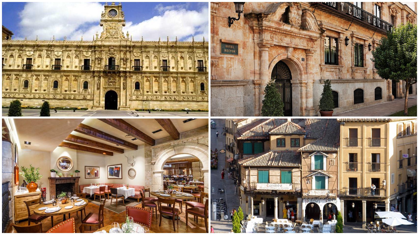 Hoteles y restaurantes de Castilla y León.