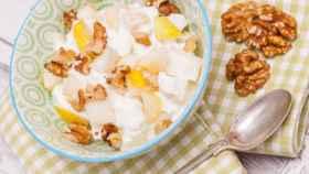 Las nueces pueden tomarse en forma de recetas saludables.