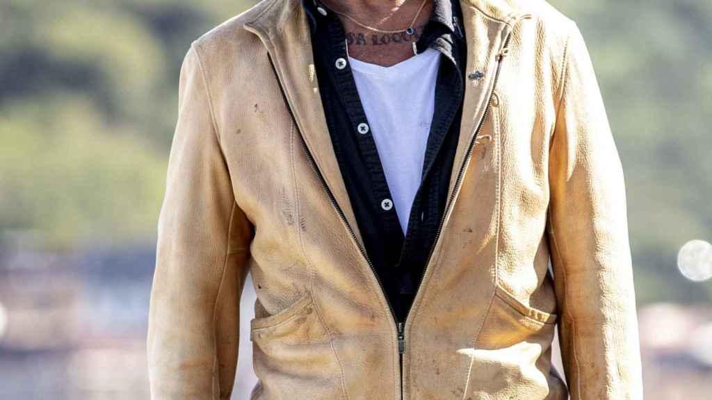 Johnny Depp, durante el Festival de Cine de San Sebastián, celebrado el pasado mes de septiembre.