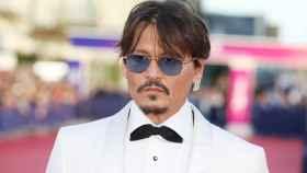 Johnny Depp, en el Festival de Cine de San Sebastián.
