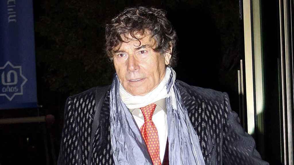 El periodista Jesús Quintero en una imagen de archivo.