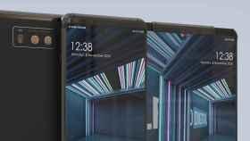 Así sería el móvil enrollable de LG que veremos el año que viene