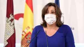 Patricia Franco, consejera de Economía y Empleo de Castilla-La Mancha (Ó. HUERTAS)