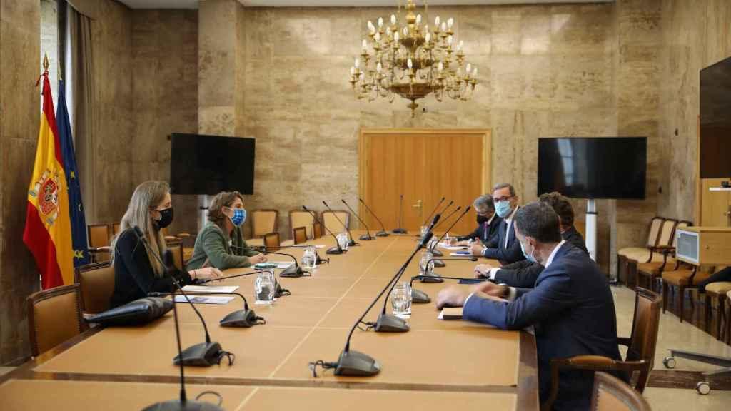 La eólica presenta a Ribera su plan para incorporar 10 GW de nueva potencia a 2024