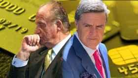 El rey emérito y su abogado, Javier Sánchez-Junco.