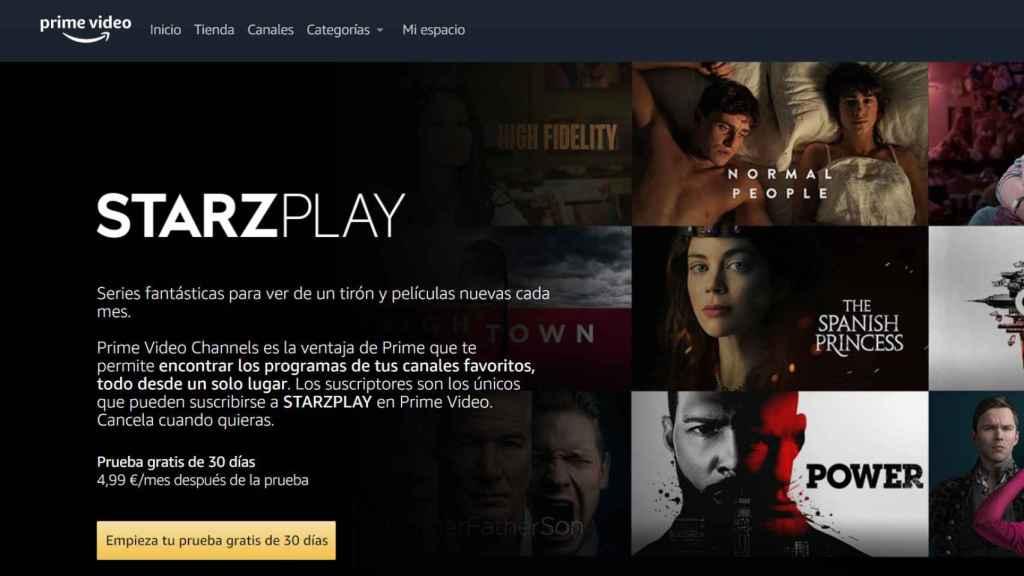 Canales de pago de Amazon.