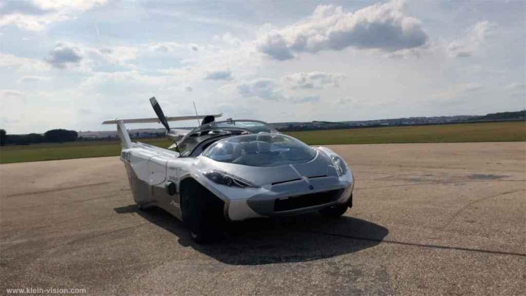 AirCar en modo coche