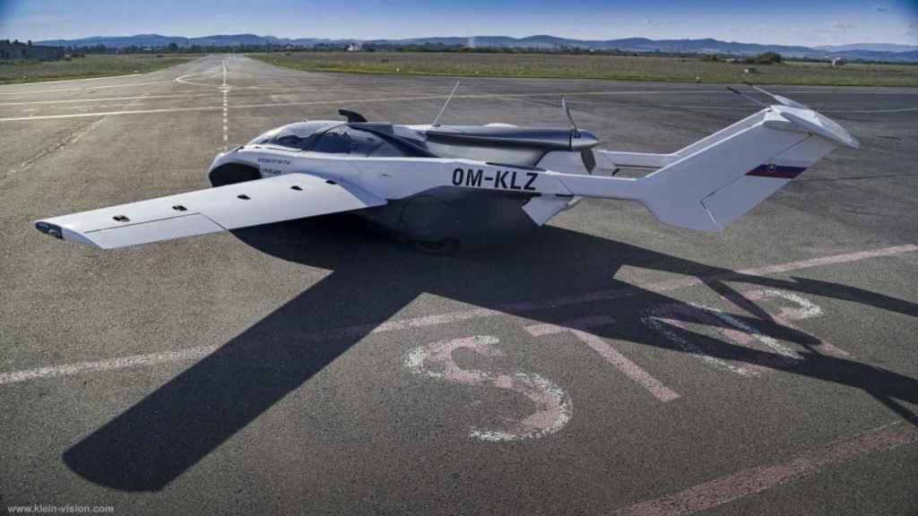 AirCar en modo avión