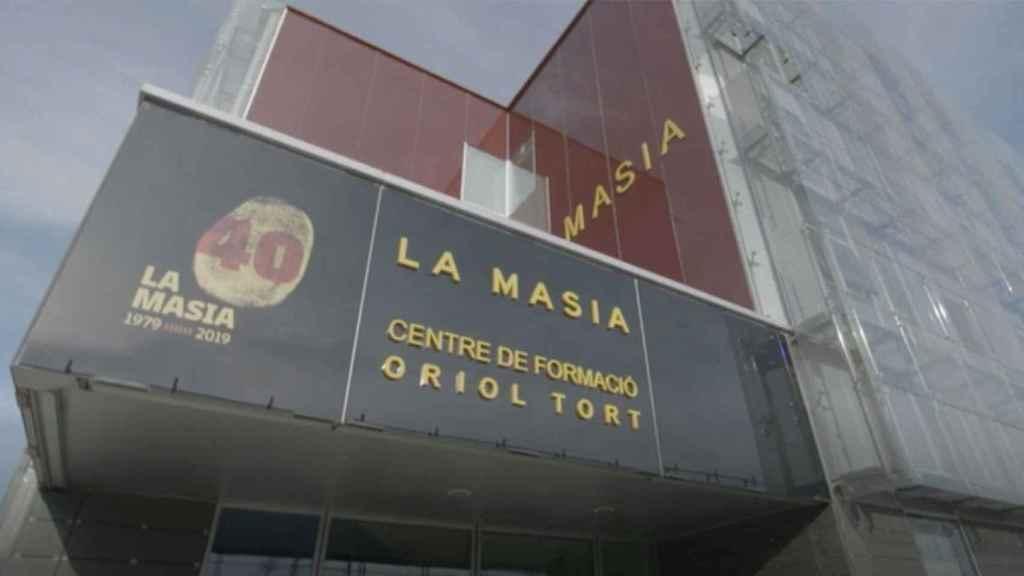 Una imagen de uno de los edificios de La Masía del FC Barcelona