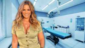 Marta López ha aprovechado que debe recolocarse una de las prótesis mamarias para mejorar su abdomen.