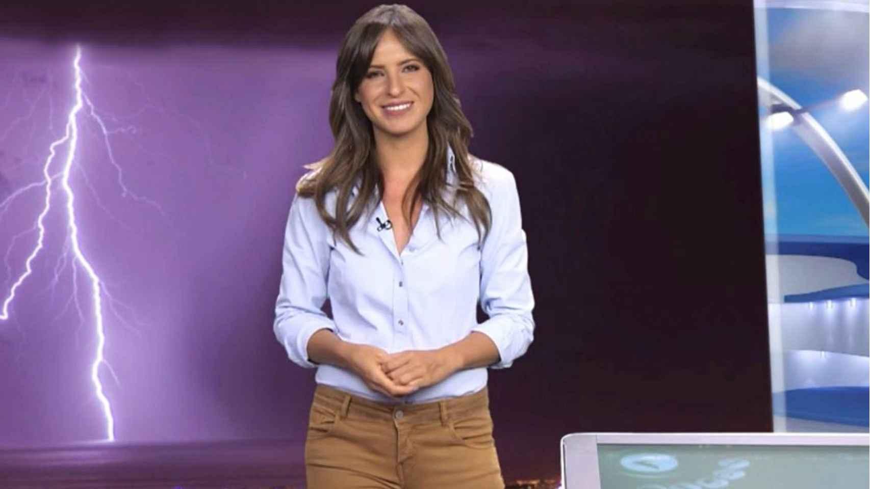 Carmen Corazzini es una de las meteorólogas de cabecera de Mediaset.