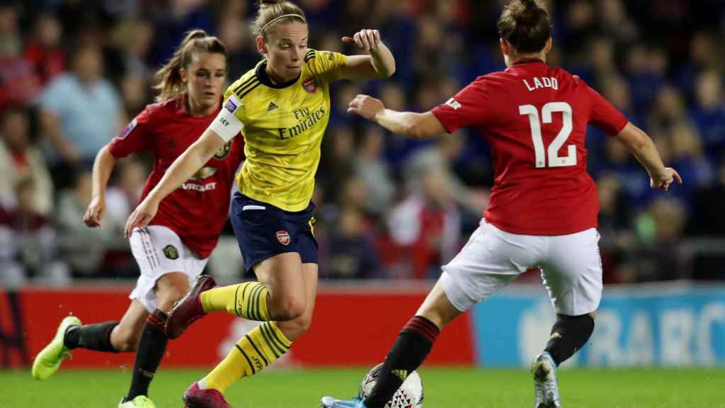 Imagen del último Arsenal - Manchester United Femenino de la FA Women's Super League