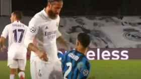 El pique de Sergio Ramos y Achraf que no se vio: ¡Chillando como una rata!