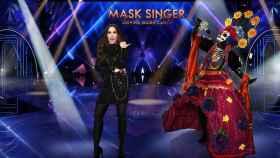 Malú en 'Mask Singer' (Atresmedia)