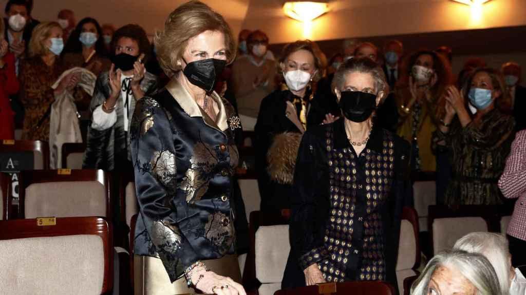 La reina Sofía estuvo con su hermana, Irene de Grecia.