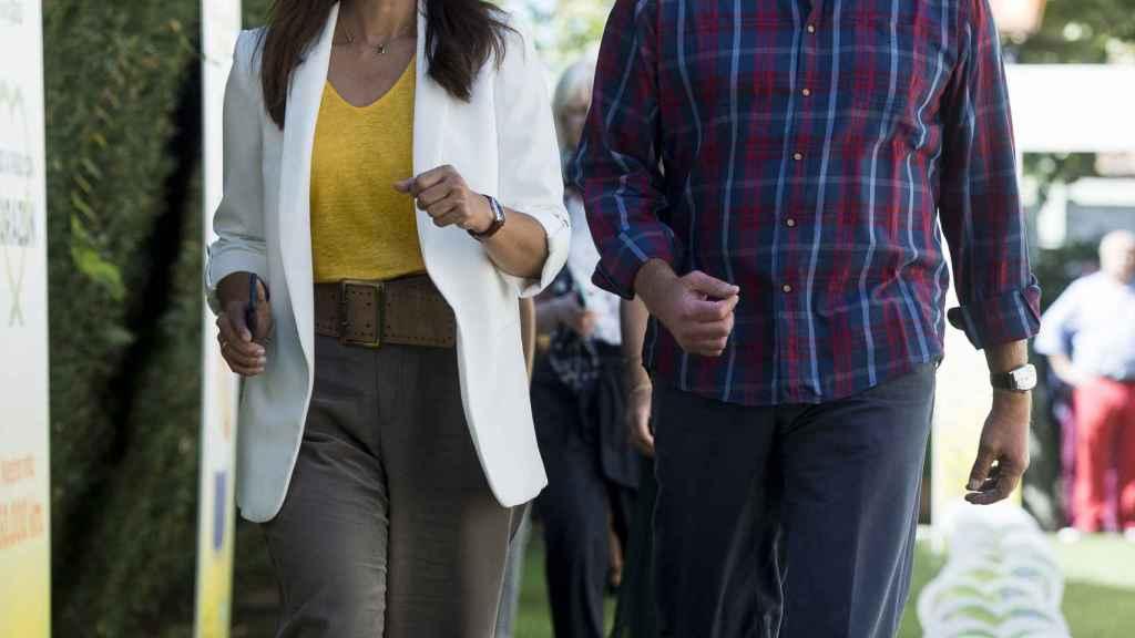 Fabiola Martínez y su marido Bertín Osborne en una imagen de archivo.