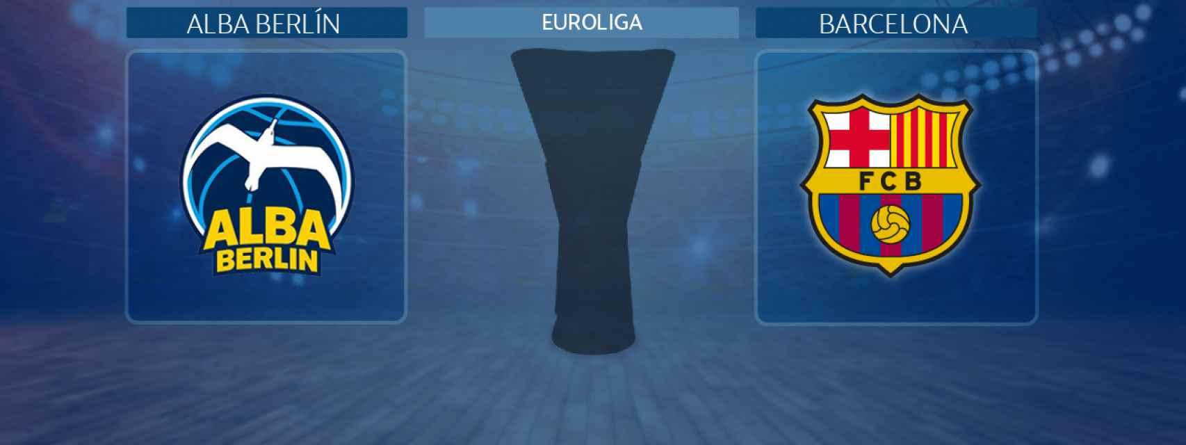Alba Berlín - Barcelona, partido de la Euroliga