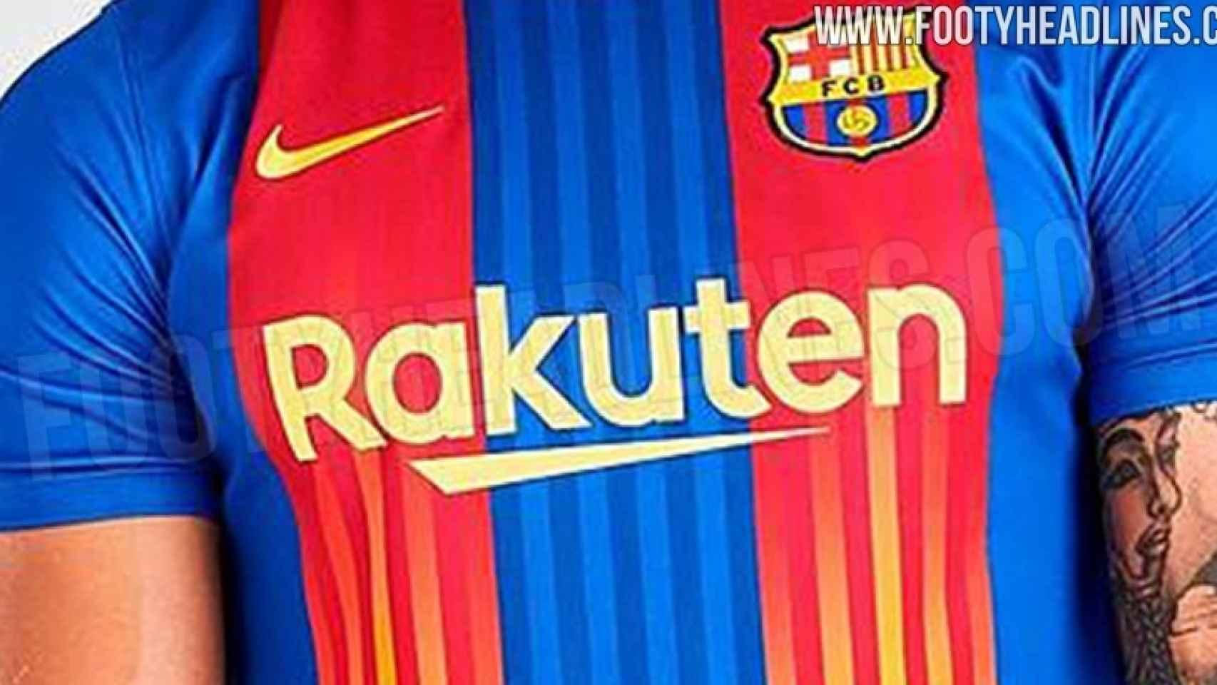 Así es la camiseta del Barça con la 'Senyera' para la temporada 2020/2021
