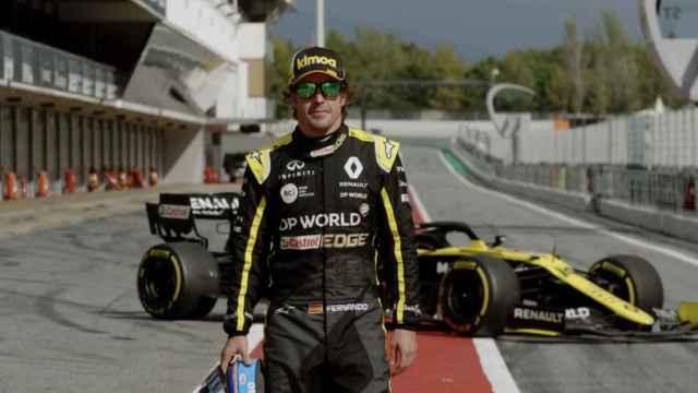 Primer test de Fernando Alonso con Renault preparando su regreso a la F1