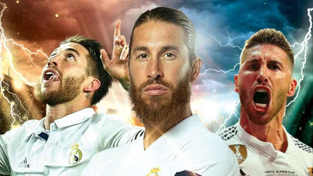 El capitán del Real Madrid, y leyenda del fútbol, Sergio Ramos