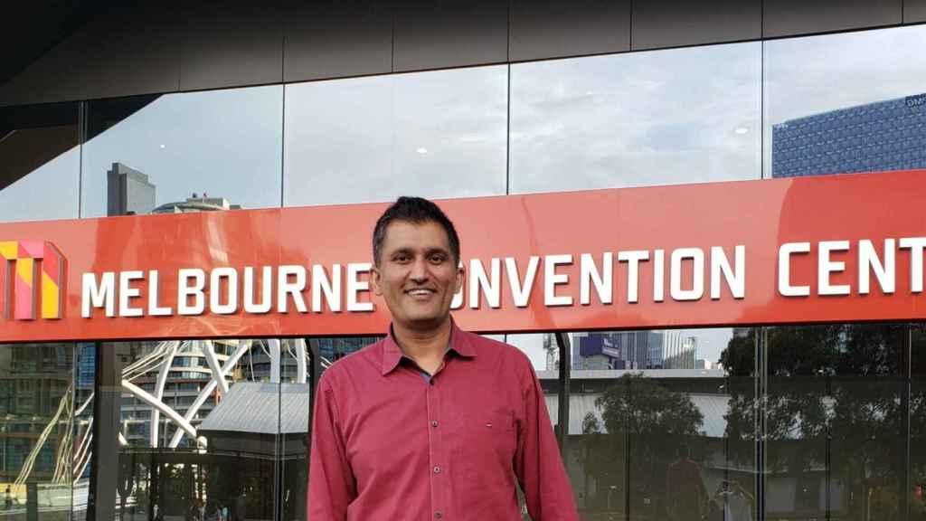 Javed Khan, director general de Webex