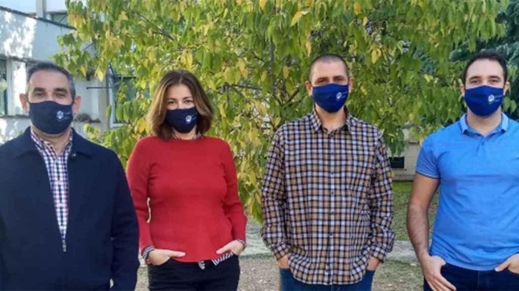 El equipo de investigación de la Universidad de Córdoba.