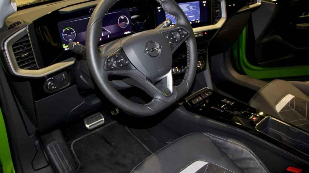 Interior del nuevo Opel Mokka.