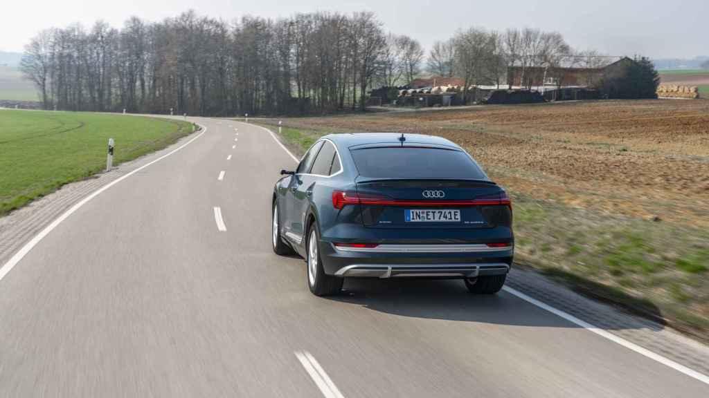 Nuevo Audi e-Tron Sportback.
