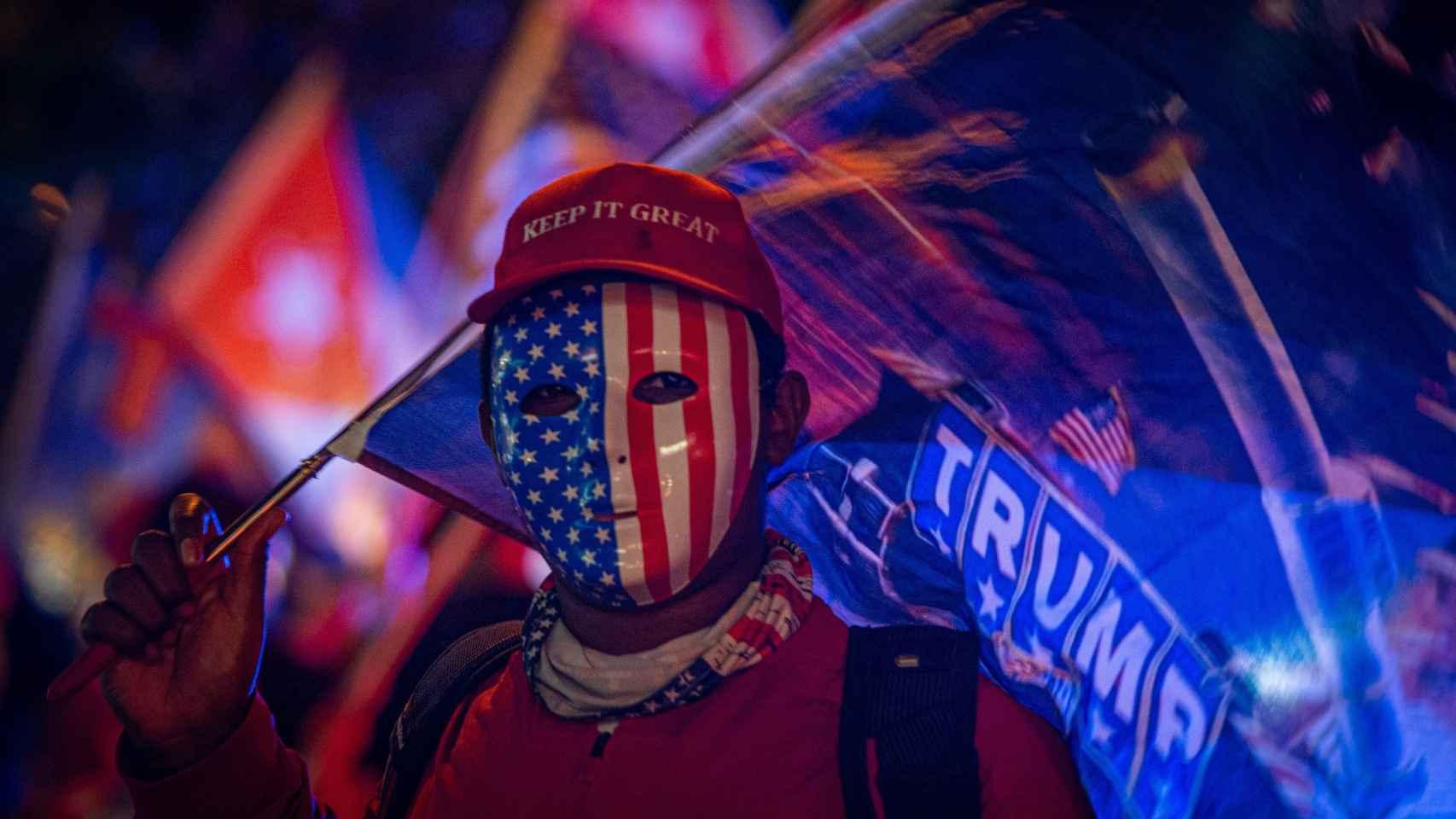 Fotogalería | Lo más excéntrico de la jornada electoral en EEUU: