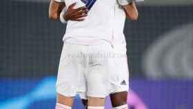 Benzema y Vinicius