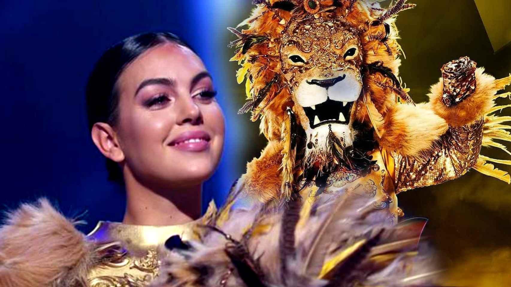 Georgina Rodríguez, en 'Mask Singer'.
