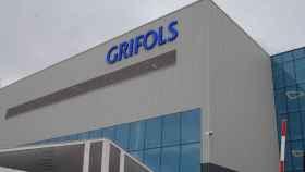 Una de las fábricas de Grifols.