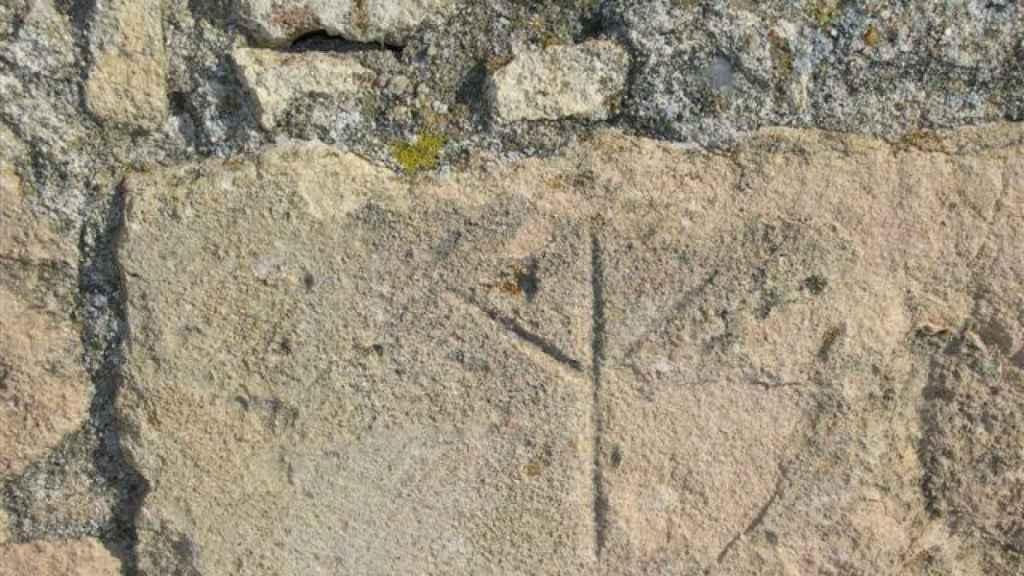 La pata de la oca se encuentra en diferentes construcciones a lo largo del Camino De Santiago.