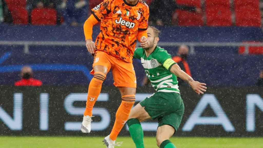 Cristiano Ronaldo, contra el Ferencvaros