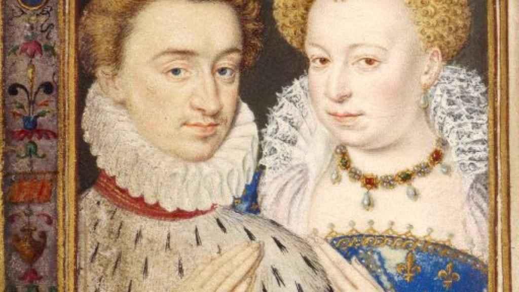 Enrique y Margarita de Valois.