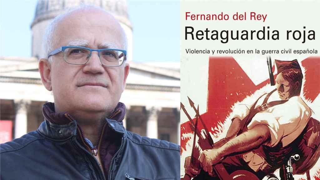 El historiador Fernando del Rey y su premiada obra.