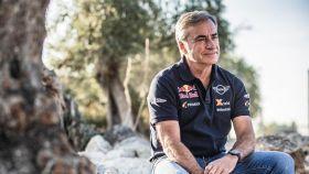 Carlos Sainz antes del Rally de Andalucía
