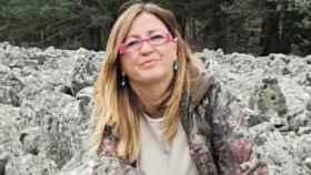 Marta Corella, alcaldesa de Orea (Guadalajara), en una imagen de Twitter
