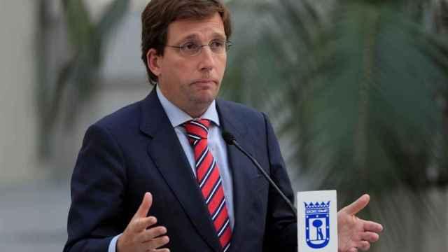 El alcalde de la ciudad de Madrid, José Luis Martínez-Almeida.