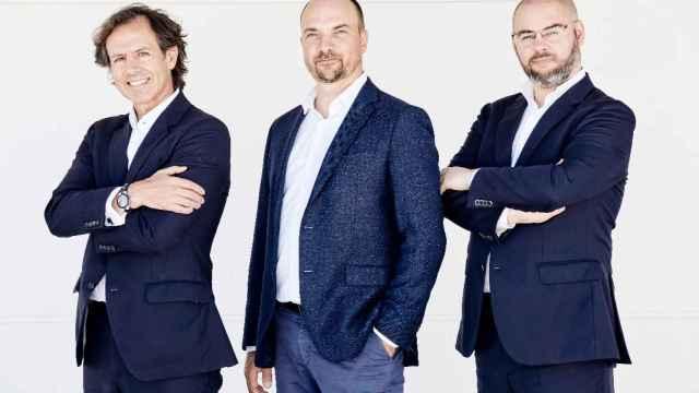 Los tres socios fundadores de Indexa Capital.
