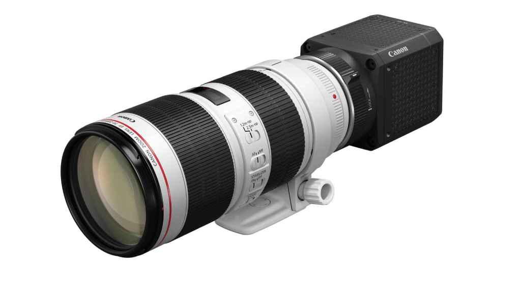 Una cámara compatible con la amplia gama de objetivos EF de Canon.