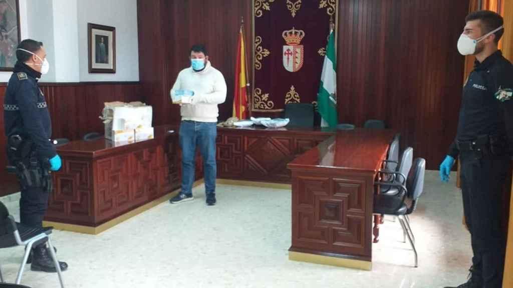 Imagen del Ayuntamiento de El Rubio (Sevilla).